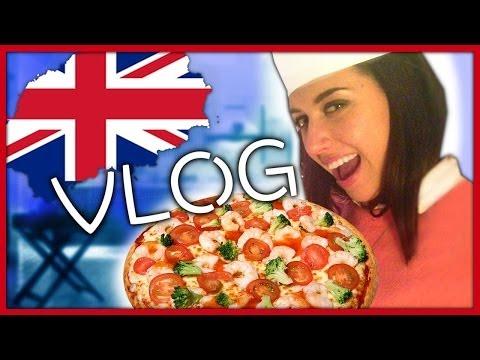 Kate Clapp (Катя Клэп), видео — VLOG: Готовлю ПИ-ПИЦЦУ / LONDON /  НЕДЕЛЯ ВЛОГОВ