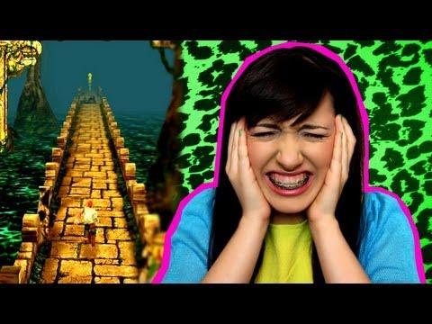 Kate Clapp (Катя Клэп), видео — Я ненавижу компьютерные игры! / Зависимость от Temple Run